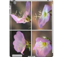 Dancing with the wind... Pink Evening Primrose (Oenothera speciosa) Free State, South Africa iPad Case/Skin