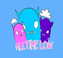 all time low monsters by cosmiczombie