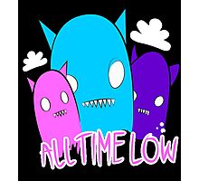 all time low monsters Photographic Print