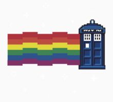 nyan tardis Kids Clothes
