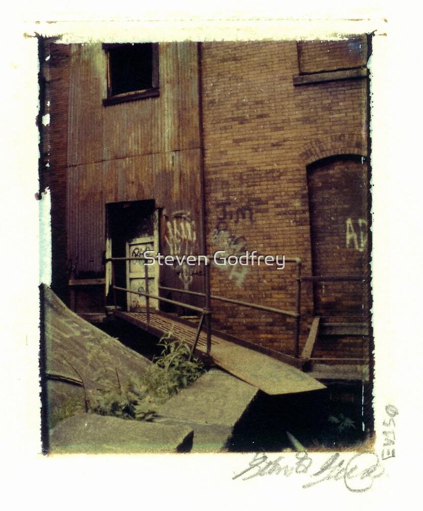 Armstrong Cork Factory - Walk Way by Steven Godfrey
