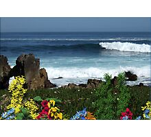04-My Favorite Vacation Shoreline Photographic Print