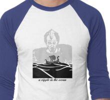 A ripple in the ocean Men's Baseball ¾ T-Shirt