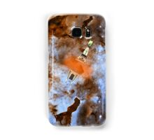 Cruiser/fighter passing through a time warp - all products Samsung Galaxy Case/Skin