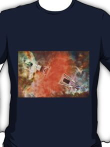 Cruiser/fighter passing through a time warp - all products T-Shirt