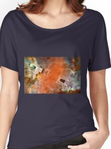 Cruiser/fighter passing through a time warp - all products Women's Relaxed Fit T-Shirt