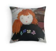 sister freckles and the redbubble tee  Throw Pillow
