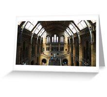 Natural History Museum, London Greeting Card