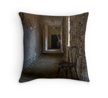 Sitting in Warmth Throw Pillow