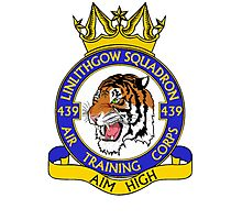 439 (Linlithgow) Squadron (White) Photographic Print