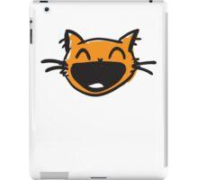 happy cat iPad Case/Skin