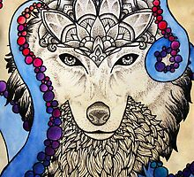 Cosmic Canis by howlinglights