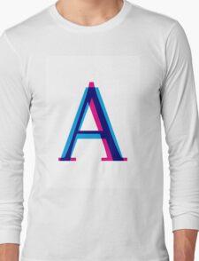 Sans vs Serif Long Sleeve T-Shirt
