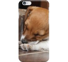 I wonder why people keep stepping on me... iPhone Case/Skin