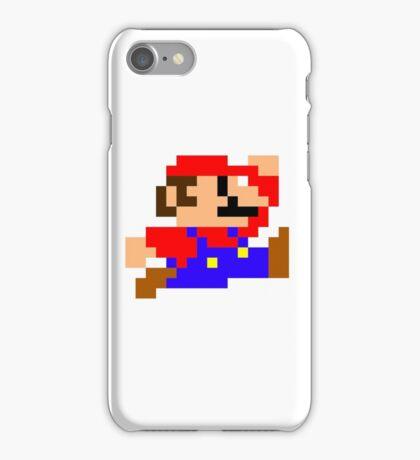 Super Mario - Pixel - Retro Games iPhone Case/Skin