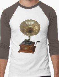gramophone t-shirt Men's Baseball ¾ T-Shirt