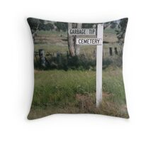 Past the use by Date? Throw Pillow
