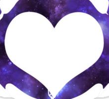 galaxy bat Sticker