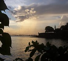 Sunset In Old San Juan, Peurto Rico by jbbrown987