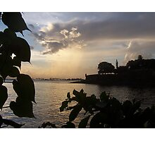 Sunset In Old San Juan, Peurto Rico Photographic Print