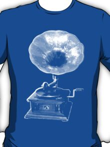 gramophone t-shirt on dark T-Shirt