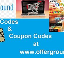 Promo Codes by Offer Ground