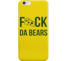 F*ck da bears iPhone Case/Skin