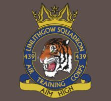 439 (Linlithgow) Squadron Small Crest  Baby Tee