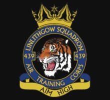 439 (Linlithgow) Squadron Small Crest  Kids Clothes