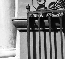 Randolph Hall Iron Gate by Benjamin Padgett