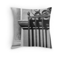 Randolph Hall Iron Gate Throw Pillow