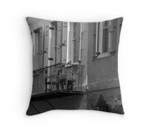 Queen Street Balcony Throw Pillow