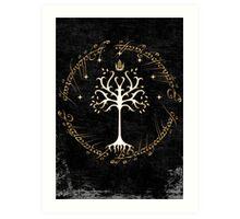 tree of gondor Art Print