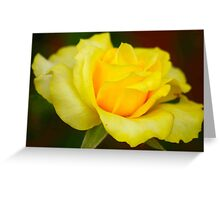 JUST YELLOW - NET GEEL Greeting Card