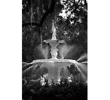 Savannah Fountain #1, Georgia Photographic Print