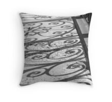 Shadow Swirls No. 1, Old Exchange Throw Pillow