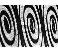 Charleston Iron Swirls Photographic Print