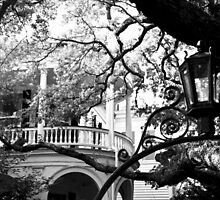 Meeting Street Porch, Charleston, SC by Benjamin Padgett