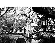 Meeting Street Porch, Charleston, SC Photographic Print