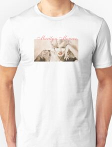 Stained Glass Marilyn T-Shirt