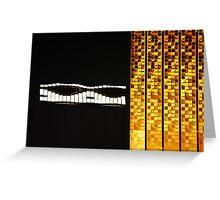 Glittering Facade Greeting Card