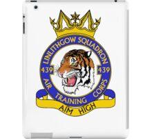 439 (Linlithgow) Squadron (White) iPad Case/Skin