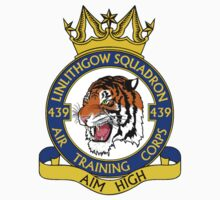 439 (Linlithgow) Squadron (White) Kids Clothes
