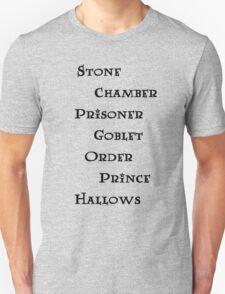 Harry Potter books T-Shirt