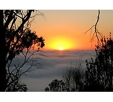 Sunrise from Mount Barker Summit Photographic Print