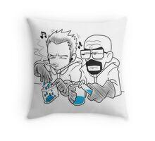 Breaking Bad Manga Version Throw Pillow