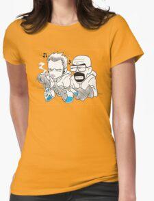 Breaking Bad Manga Version Womens Fitted T-Shirt
