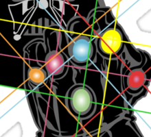 Infinity Galaxy Sticker
