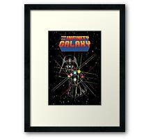Infinity Galaxy Framed Print