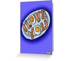 I love . . . Bacon and Eggs Greeting Card